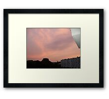 Summer in Migennes - August 2011 Framed Print