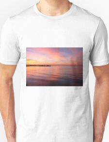 Morning Serenity on the Gulf Shore T-Shirt