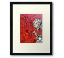 Pause for Reflection Framed Print