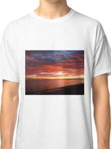 Sky Ablaze on the Texas Gulf Classic T-Shirt