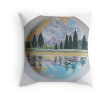 Tuolumne River (Charger Plate) wip Throw Pillow