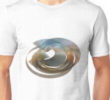 Moire Rings Of Mobius Algorithmic Art Unisex T-Shirt
