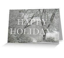 The Quiet, Christmas Card Greeting Card