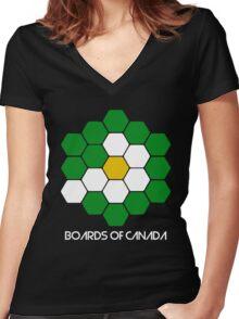 boc Women's Fitted V-Neck T-Shirt