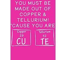 Copper and Tellurium CUTE T Shirt Photographic Print