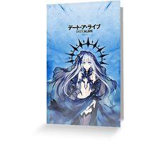 《Devil》 Date A Live || Tobiichi Origami Greeting Card
