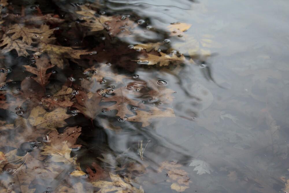 Inky Leaves by Lynn Wiles