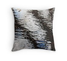 Symbolic Puddle Throw Pillow