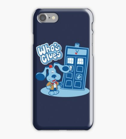 Who's Clues iPhone Case/Skin