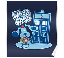 Who's Clues Poster