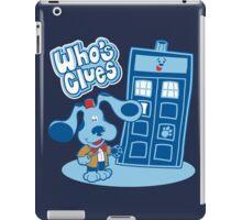 Who's Clues iPad Case/Skin