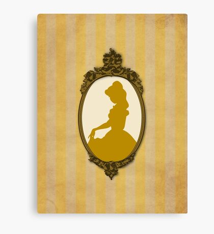 Vintage Beauty Canvas Print