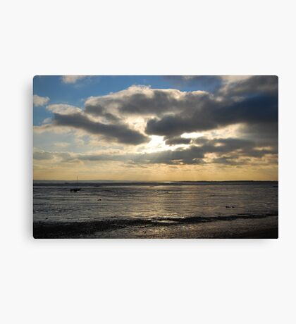 Chalkwell Cloudscape Canvas Print