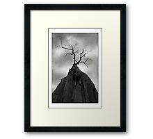 Horror Tree Framed Print
