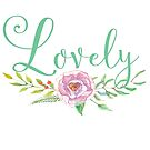 Lovely - floral by bookishwhimsy