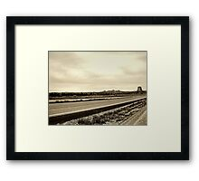 Road to Hell Framed Print