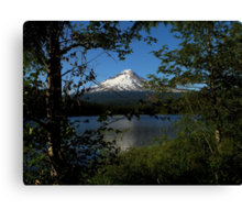 Mountain Views From The Lake ~ Part Two Canvas Print