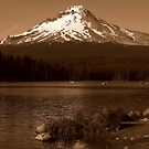 Mountain Views From The Lake ~ Part Three by artisandelimage
