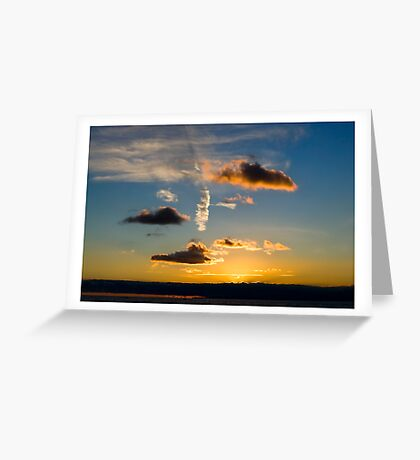 Nice Clouds Greeting Card