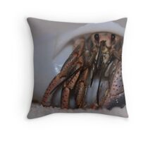 Hermit Crab Throw Pillow