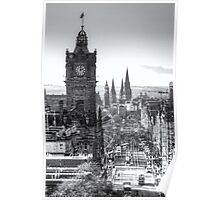 Princess Street, Edinburgh Poster