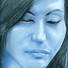 My Heart Is Blue by Karen Clark