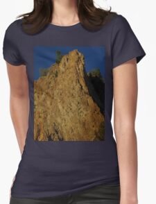 Yellostone Awesome Cliffs Womens Fitted T-Shirt