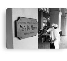 Cafe Du Monde, New Orleans Canvas Print
