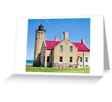 Historic Mackinaw Point Greeting Card