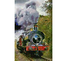 Locomotive à vapeur  Photographic Print