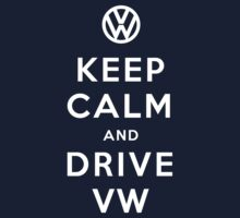 Keep Calm and Drive VW (Version 01) Kids Clothes