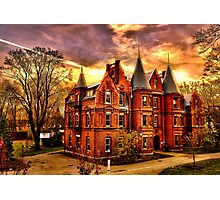 Wellesley College,Schneider Center Photographic Print