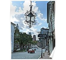 Providence View from Steeple Street - Providence Art Club Poster