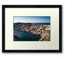 Marina della Corricella Framed Print