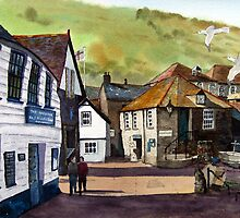 The Slipway - Port Isaac, Cornwall by Timothy Smith