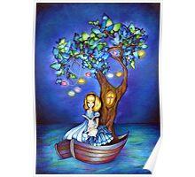 Alice in Wonderland Fantasy - Under the Dreaming Tree Poster