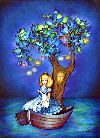 Alice in Wonderland Fantasy - Under the Dreaming Tree by Annya Kai