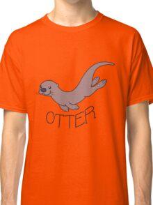 Cute River Otter Shirt Classic T-Shirt