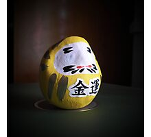 blind daruma Photographic Print