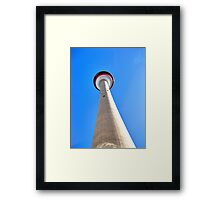 Towering Heights Framed Print