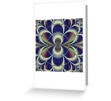 Artificial Flower Greeting Card