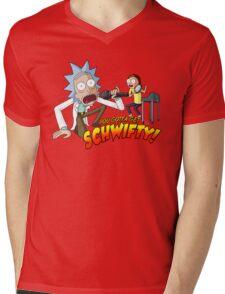 You Gotta Get Schwifty! Mens V-Neck T-Shirt