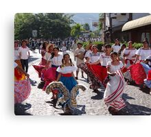 History, Tradition and Culture - this is Mexico - Historia, tradicion y cultura - este es Mexico Canvas Print