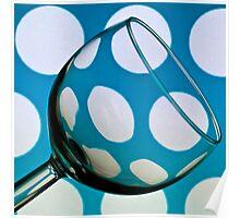 Polka Dot Glass Poster