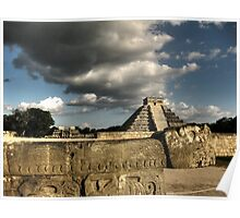 Kukulcan Pyramid Poster