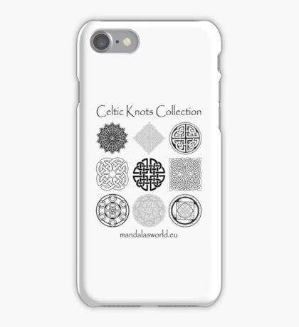 Celtic Knots Collection Dark iPhone Case/Skin