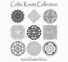 Celtic Knots Collection Dark Kids Clothes