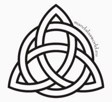 Celtic Holy Trinity Dark Kids Clothes