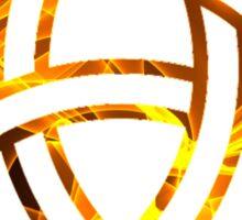 Celtic Holy Trinity Flames Sticker