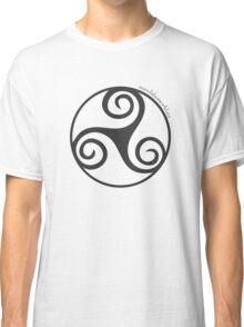 Celtic Triskel n1 Dark Classic T-Shirt